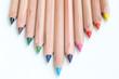 Buntstifte in allen Farben