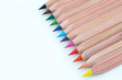 Buntstift Reihe in verschiedenen Farben