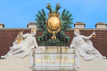 Vienna, Austria - Eagle on imperial palace