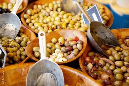 Olive al mercato