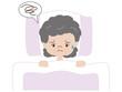 不眠(高齢者 女性)