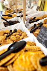 Biscotti al mercato