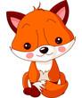 Fun zoo. Fox
