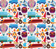 seamless transport pattern