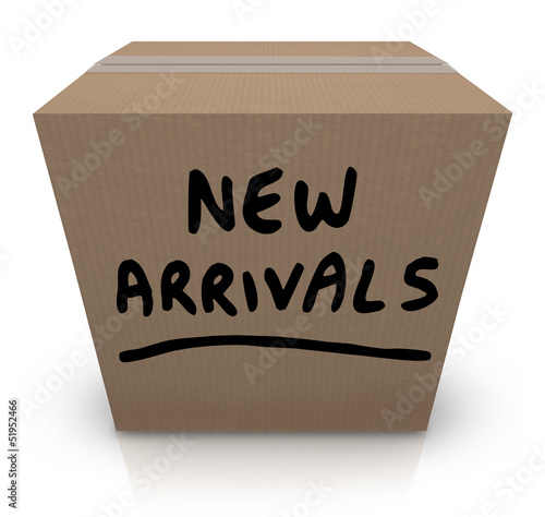 New Arrivals Cardboard Box Latest Products Merchandise