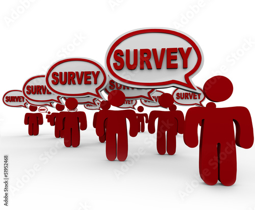 Survey Focus Group People Customers Answering Questions