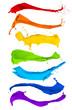 Leinwandbild Motiv paint splash collection