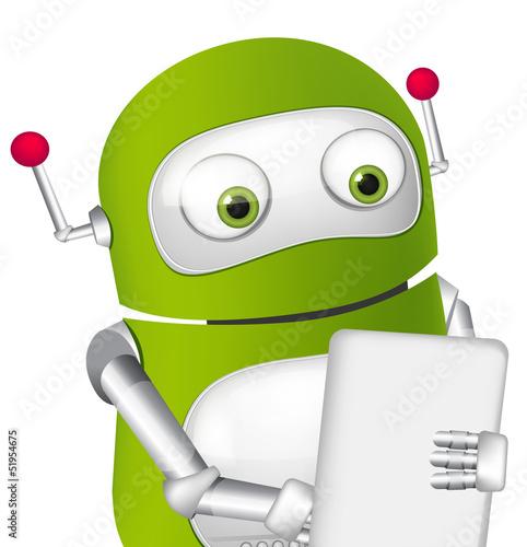 Keuken foto achterwand Robots Cute Robot
