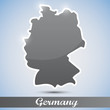 shiny icon in form of Germany