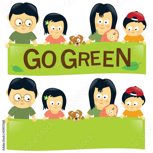 Go green family 2