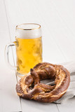 Bretzel and beer