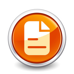 button orange document