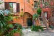 Roma, cortile