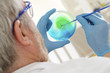 Ensemencement  de bactéries - Boite de pétri