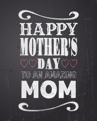 Chalkboard Mother's Day Design