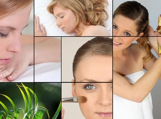 Women, beauty and relaxation