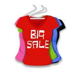 Big Sale on Apparel poster