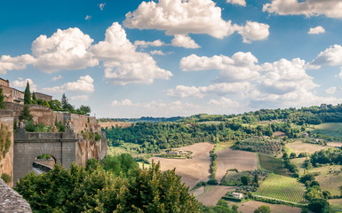 View from The Walls of Orvieto