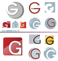 Vector Alphabet Project G