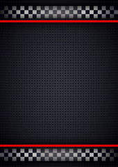 Racing background vertical, metallic perforated