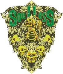 Soulless skeleton