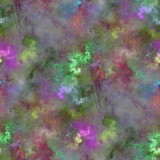 Seamless tileable fractal abstract colored image poster