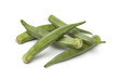 Fresh raw okra