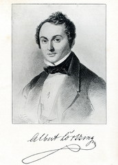 German composer Gustav Albert Lortzing