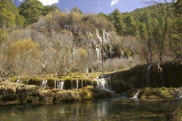 Cuervo Cascade, Cuenca, Spain