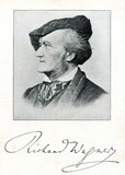 German composer Wilhelm Richard Wagner