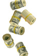many rolls of money