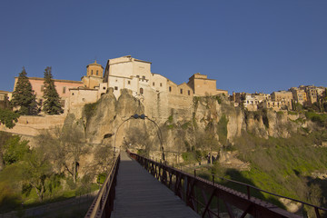 The medieval town of Cuenca, Spain