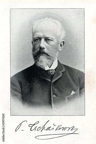 Russian composer Pyotr Ilyich Tchaikovsky