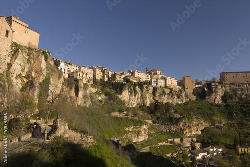 The medieval town of Cuenca, Spain