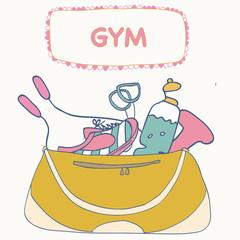 Fitness bag.