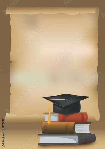 Graduation background