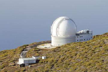 Astronomical observatory Roque de los Muchachos, La Palma