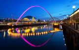 Fototapety Millennium Bridge Newcastle