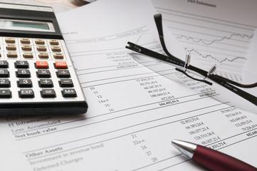 Bilanz und Unternehmenszahlen