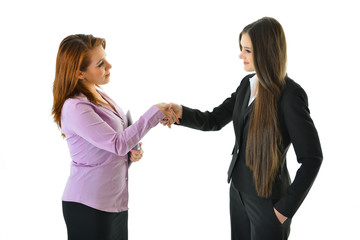 Business Handshake (Women)