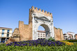 Arch of Augustus in the modern urban Context - Rimini, Italy