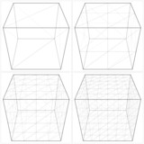 Cube From The Simple To The Complicated Shape Vector 04
