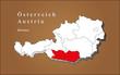 Österreich Kärnten hervorgehoben