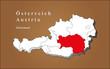 Österreich Steiermark hervorgehoben