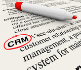 CRM Customer Relationship Management Dictionary Definition