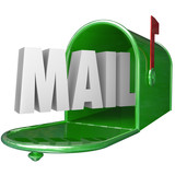 Mail Word Mailbox Postal Delivery New Message Communication
