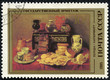 "stamp printed in USSR is shown by the Pereda ""Still-life;"