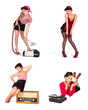 pinup Collage
