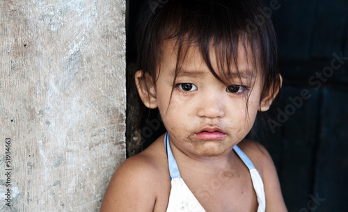 Child living in poverty