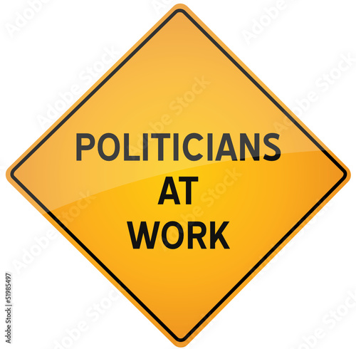 Politicians at work